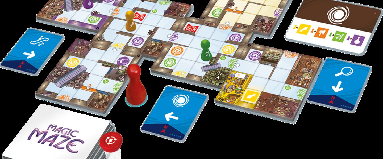 Magic Maze - Magic Maze - Un jeu de Kasper Lapp - Jeu de ...