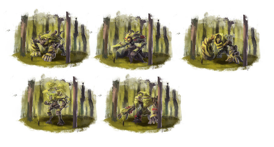 Roi des arbres recherches 1