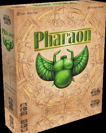 Pharaon, la boite du jeu