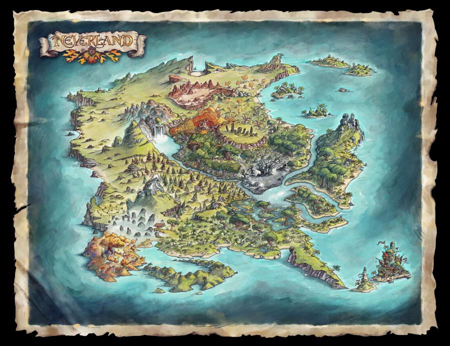 """Ouverture du kickstarter pour""""Adventures in Neverland""""! À ne pas rater!"""