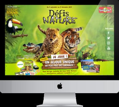 Grand jeu-concours de fin d'année à l'occasion de la sortie du jeu Défis Nature Chrono  !