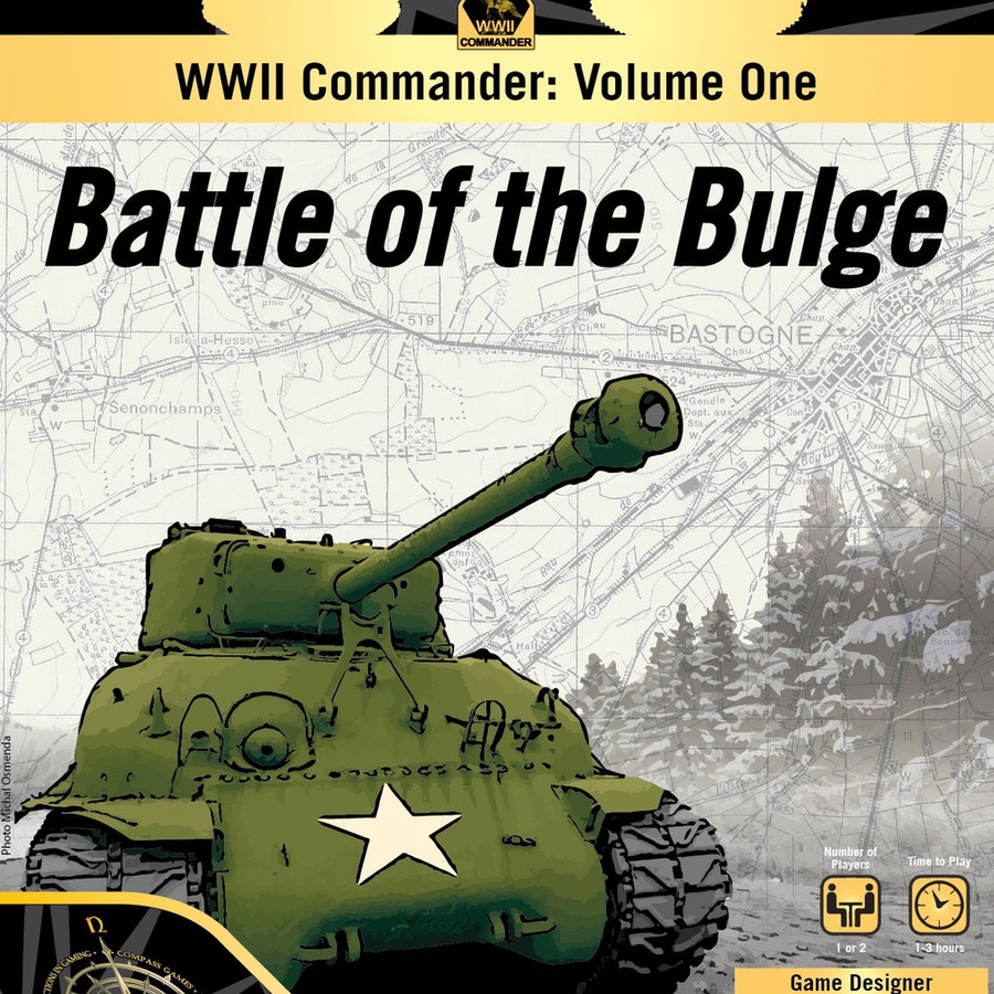 WWII Commander Volume One:  Battle of the Bulge