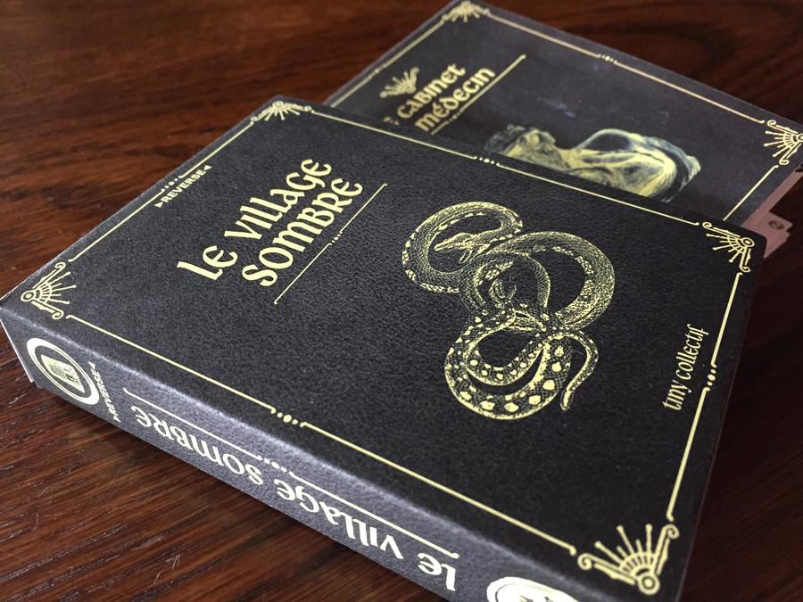 Le Village Sombre - jeu narratif en livrets sur KS