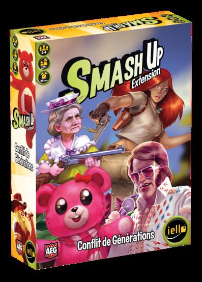 Smash'Up Conflit de Générations :