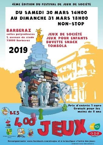 Festival : 400 JEUX de CHAMBERY