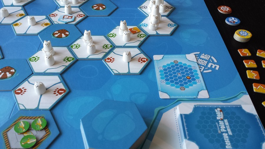 ESSEN REVIEW # 2 : RESCUE POLAR BEARS