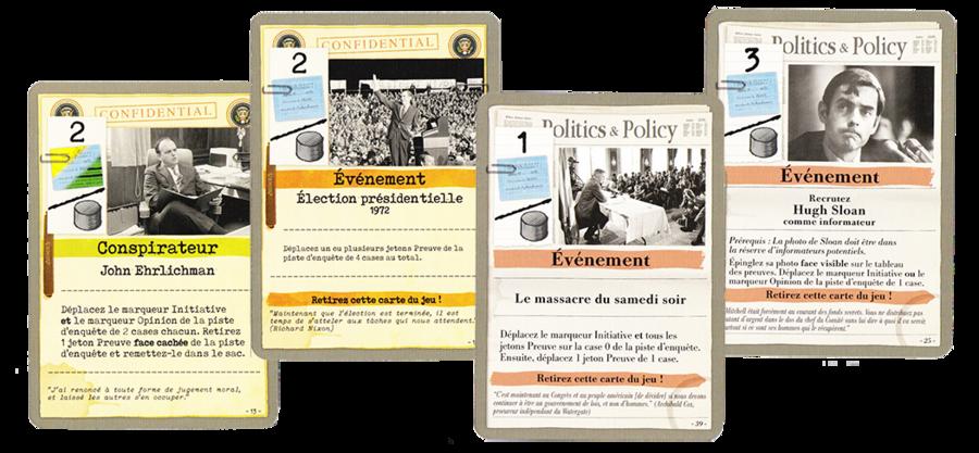 Cartes Watergate - Iello