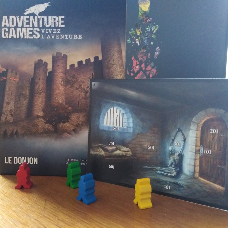 Adventure Games, LE DONJON : Retrouverez-vous vos souvenirs ?