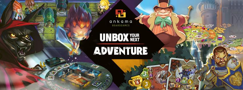 [FIJ 2019] Ankama Boardgames : demandez le programme !