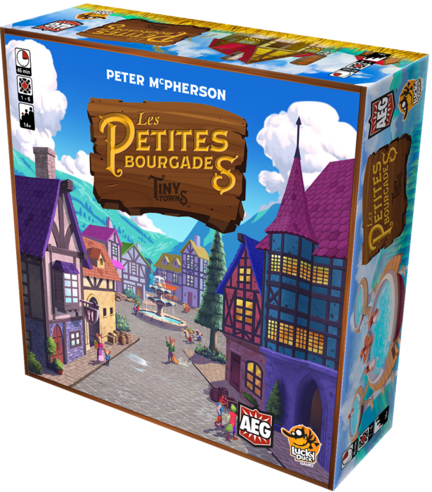 Tiny Towns : Les petites bourgades en version française !