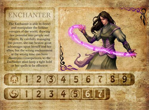 "Darkest Night - Mini extansion ""Enchanter"""