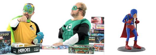 les jeux de Super Heros, de le papotache !