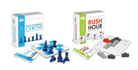 Rush Hour et Solitaire Chess version plus