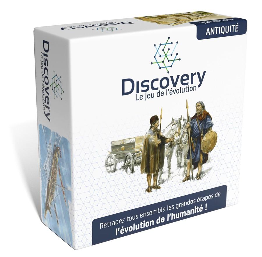 Discovery - Antiquité : offre de pré-lancement → 20 jeux à gagner,  promo à -50%