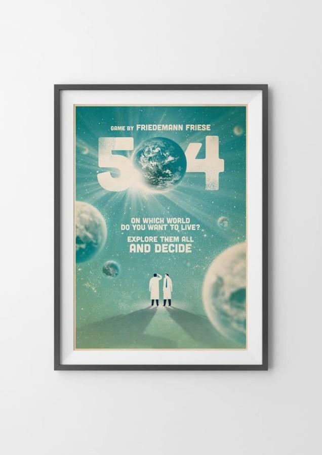Spiele-Poster wie im Kino