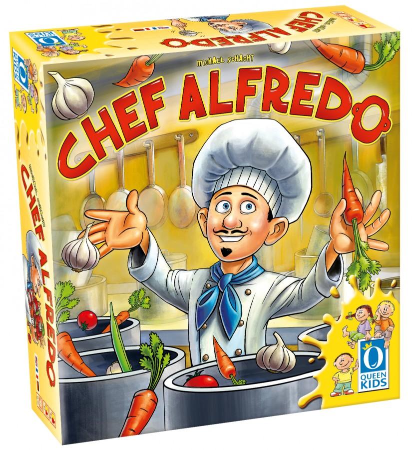Chez Alfredo : Schacht en cuisine !