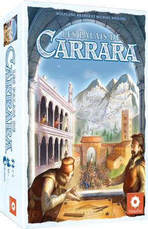 Les Palais de Carrarra sur les étals