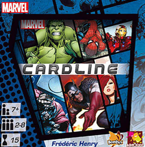 Cardline Marvel : BOmbyx et ASmodee en collant