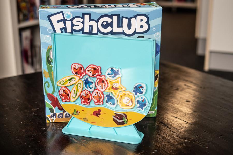 Fish Club,  rapide, costaud et rigolo !