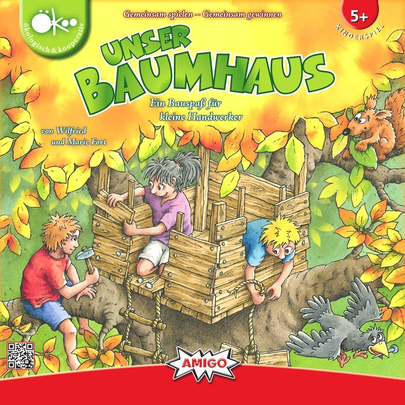 Unser Baumhaus, construisons une cabane dans l'arbre