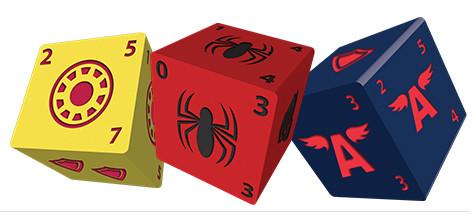 Marvel Dice Master : Spiderman en 3 dés... et en VF !
