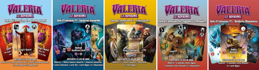 ⚔️ Valeria le Royaume est enfin réédité chez Lucky Duck Games ⚔️