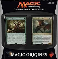 """Magic """"The Gathering"""" ; Origines : Clash pack pour deux joueurs"""