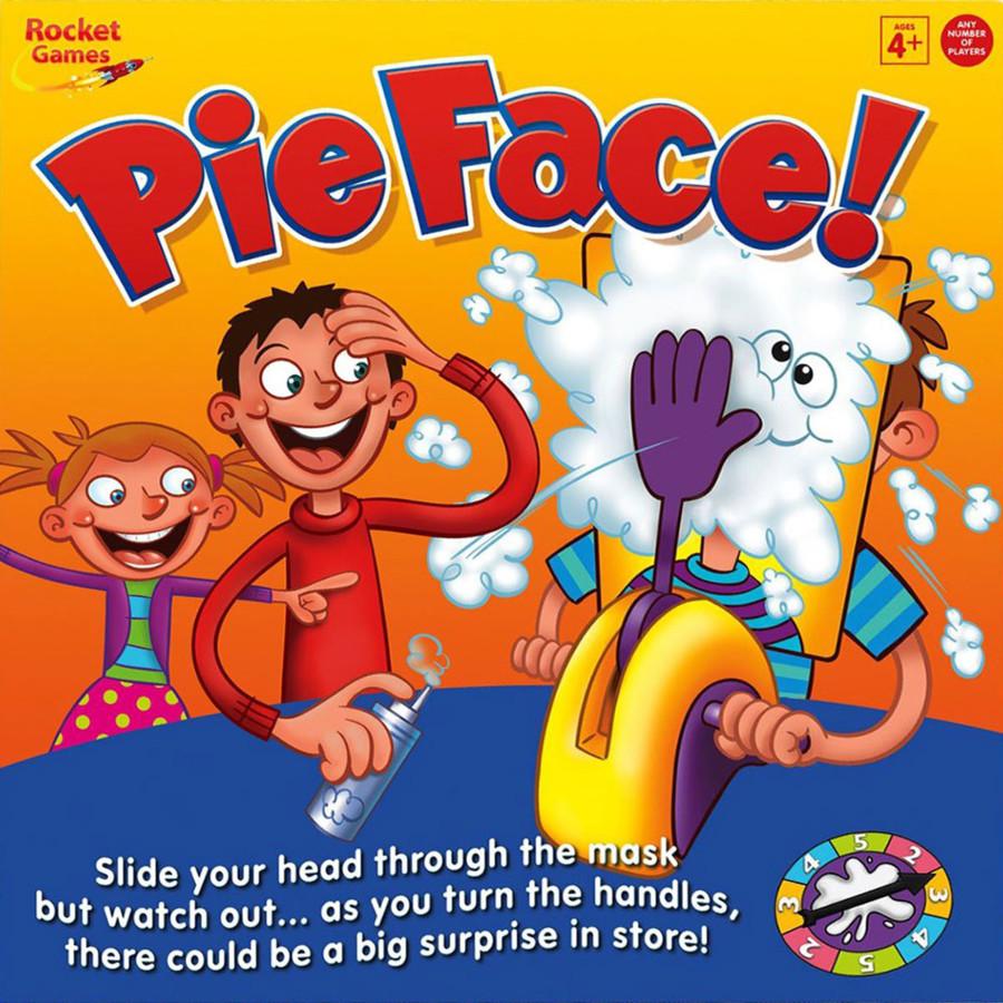 Pie Face und ein Partyspiel allererster Sahne