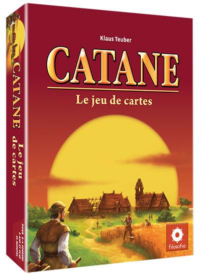 <p>Catane le jeu de cartes ce n'est pas le jeu de cartes de Catane bien que...</p>