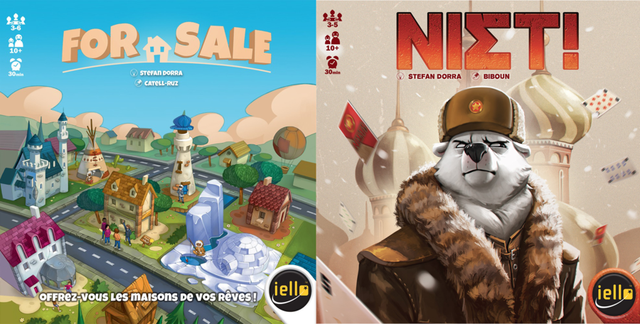 Dorra le retour : Niet et For sale - Essen 2015