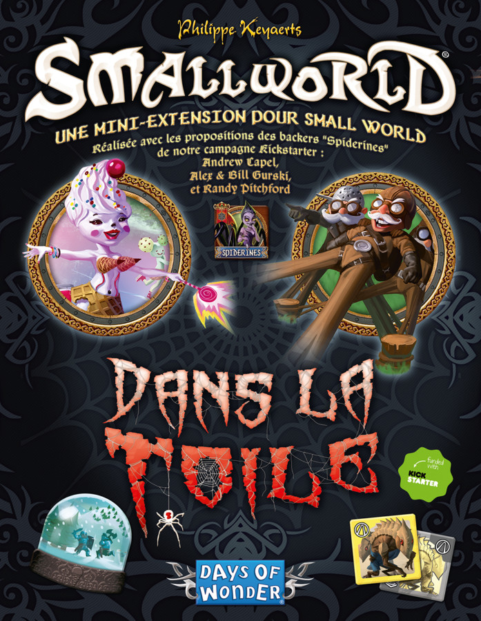 Small World : Dans la toile et sur la toile