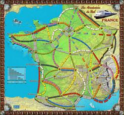 Les Aventuriers du Rail : Extension France