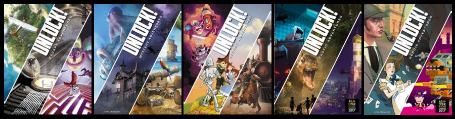 Unlock! - Heroic Adventures : un jeu dont vous êtes le