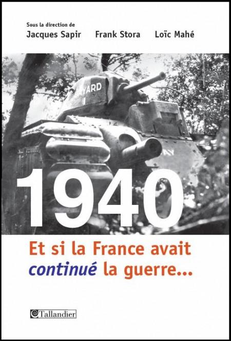 Alinea, et si la France avait continué la guerre...