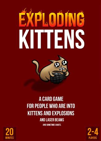 Explodierende Katzen, explodierendes Konto
