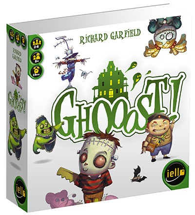 Ghooost ! un jeu de carte de Richard Garfield
