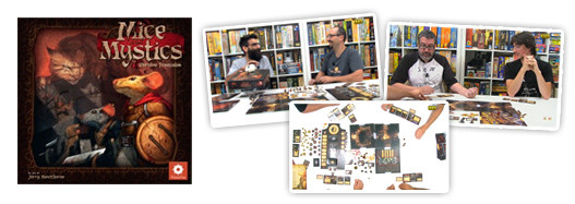 Mice and Mystics, de le Coupé Court