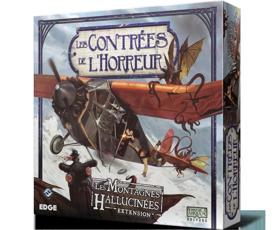 Les Contrées de l'Horreur - Les Montagnes Hallucinées