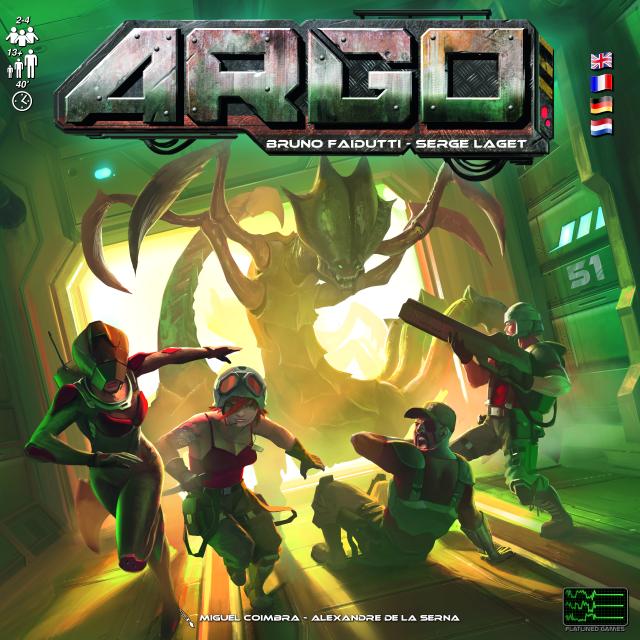 Argo de Bruno Faidutti et Serge Laget bientôt sur KS