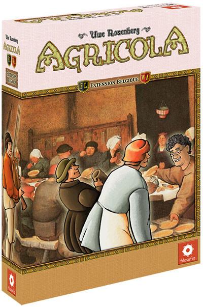 Agricola : le deck Belgique à manger avec des frites et des boulettes