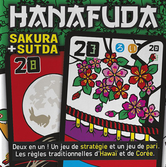Hanafuda, découvrez deux jeux avec un rouge-gorge