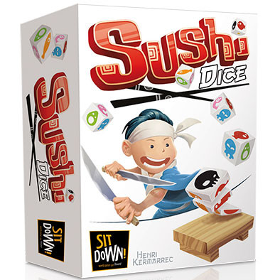 SUSHI DICE À ESSEN: ça va en jeter!