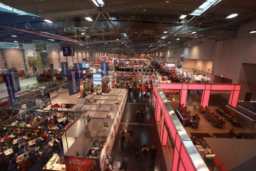 Essen 2013 : Les halls francophones !