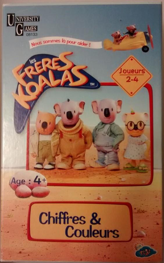 Les Frères Koalas Chiffres & Couleurs