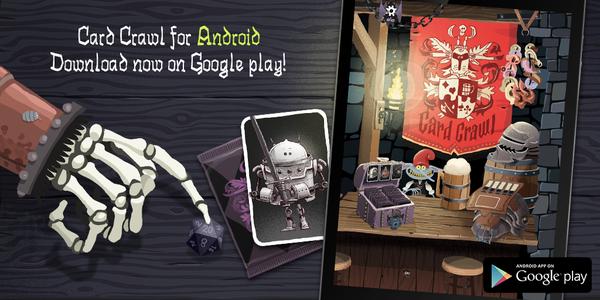 Card Crawl jetzt auch für Android