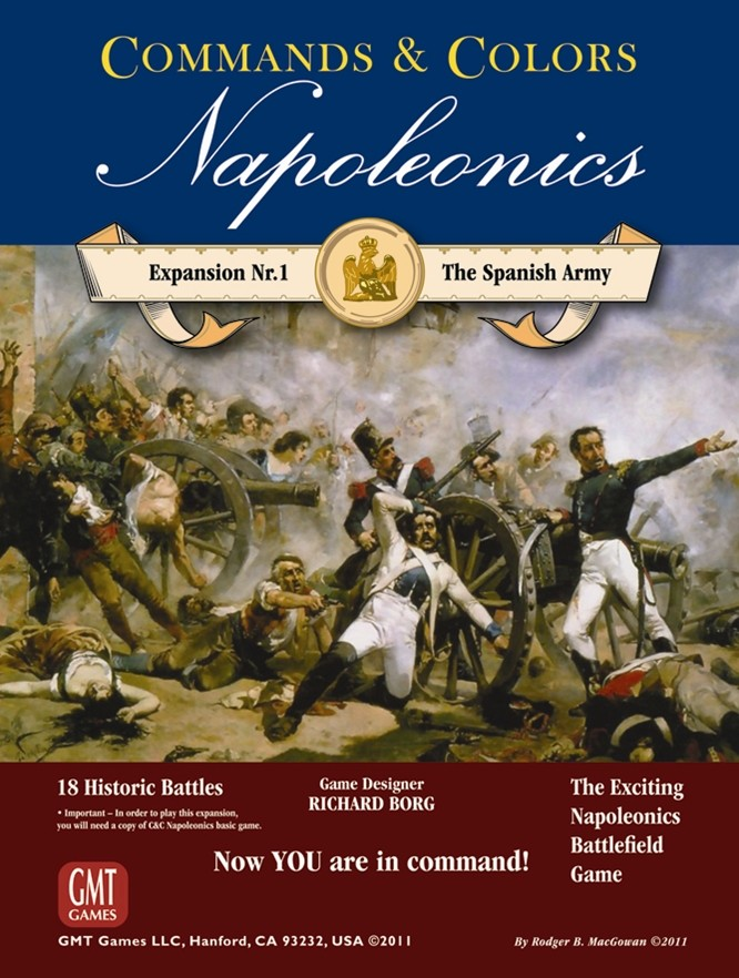 Commands & Colors : Napoleonics, Expansion 1 : The Spanish Army