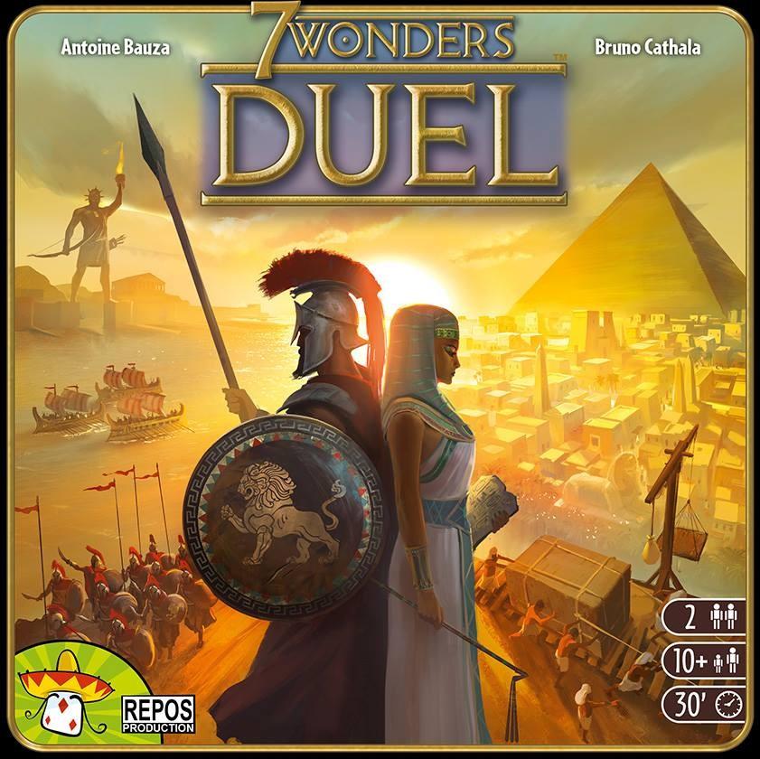7 wonders Duel, la version 2 joueurs !