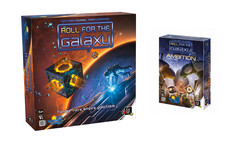 Pack :  Roll for the Galaxy + Extension Amlbition