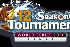 12 Seasons tournament final logo