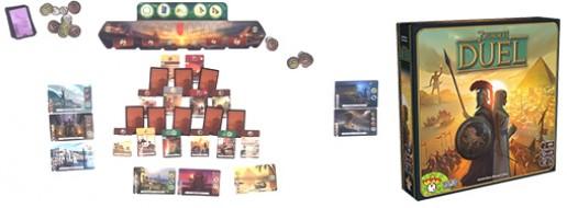 7 Wonders Duel , la Partie !
